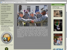 Screenshot from Webpage '44th Signal Battalion Homepage'