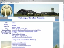 Screenshot from Webpage 'Welcome to Loring Air Force Base.com'