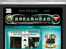 Screenshot from Webpage 'Official Website of 3RD INFANTRY (SPEARHEAD) DIVISION'